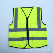 High Visibility Knitted Safety Vest